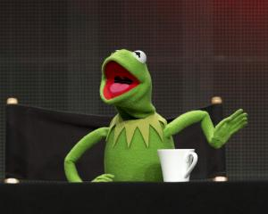 Muppets character Kermit the Frog. Photo: Getty