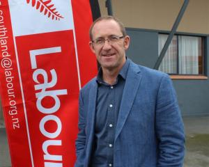 Labour leader Andrew Little at the Southern Labour Conference held at Milton at the weekend....