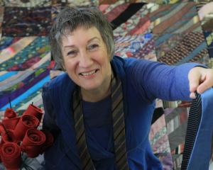 Oamaru's Irene Sparks will count her up-to-23,000 ties on Saturday in her effort to enter the...