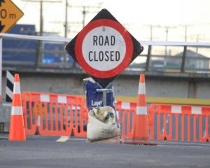 It will be weeks before Humber St is reopened, the Waitaki District Council says. PHOTO: HAMISH...