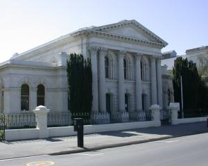 The Oamaru courthouse will  be strengthened later this year. Photo: ODT.