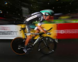 Pawel Poljanski in action on the Tour de France. Photo: Getty Images