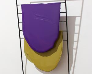 Purple, Ochre (2016), by Helen Calder