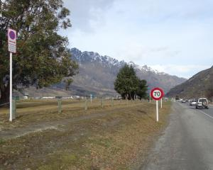 The road verge on State Highway 6 between Queenstown Airport and the BP roundabout is now free of...