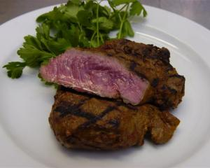 Steak prices rose substantially in the year ending May. Photo by Jane Dawber.