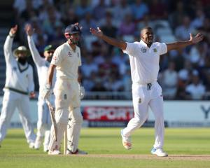 Vernon Philander appeals during South Africa's win over England. Photo: Getty Images