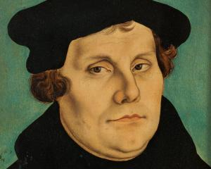Martin Luther. Photo Wikipedia.