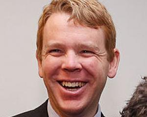 Chris Hipkins. Photo Getty