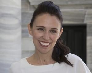 Labour leader Jacinda Adern.