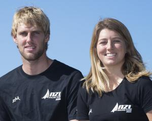 Jason Saunders and Gemma Jones. Photo: NZ Herald.