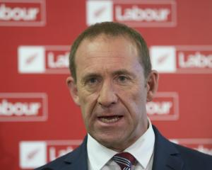 """Andrew Little says he's disappointed with the poll. """"A tough fight just got tougher."""" Photo: NZ..."""