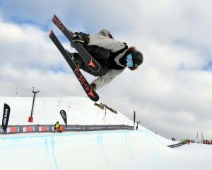 Wanaka's Beau-James Wells, seen here competing at Cardrona during the last Winter Games, in 2015,...