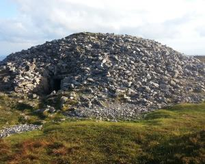Recent University of Otago-led research on Stone Age Ireland, focuses on this burial cairn at...
