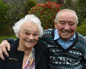 Irene and Ron Chapman (both 93) celebrate their 70th wedding anniversary on Saturday. Photo:...