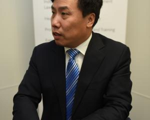 People's Republic of China consul-general Jin Zhijian in Dunedin last week, hosted by the Otago...