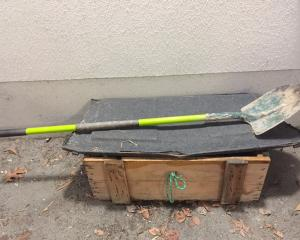 Balclutha police would like to know if anyone recognises this distinctive green shovel left at a...
