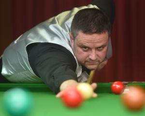Former New Zealand snooker player Garry Hale, who returned after 20 years away from the sport to...