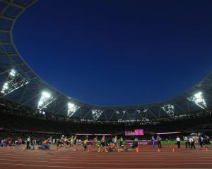 The Olympic stadium in London, where the 2017 IAAF world championships are being held. Photo:...