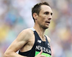 Nick Willis running at the 2016 Rio Olympics. Photo: Getty Images