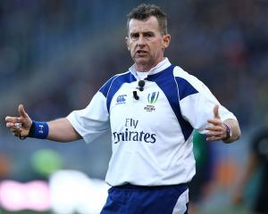 Nigel Owens. Photo: Getty Images