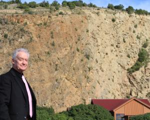 Oamaru Adventure Park director Alan McLay hopes the old quarry at  Oamaru Harbour will become the...