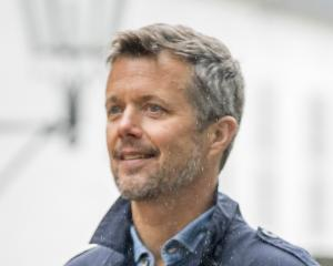 Denmark's Crown Prince Frederik. Photo Getty