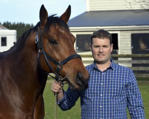 Co-owner Jason Coutts is looking forward to the coming thoroughbred breeding season with his...