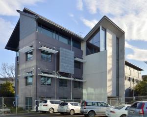 The University of Otago' St David 2 building has been empty since 2012. PHOTO: GERARD O'BRIEN