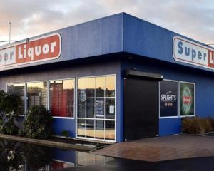Super Liquor Andersons Bay. Photo: ODT files