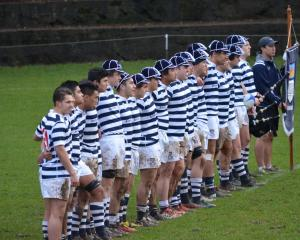 Otago Boys' High School 1st rugby XV.
