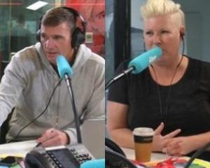 The Edge radio hosts Jay-Jay and Dom Harvey are separating after 18 years of marriage. Photo: The Edge Facebook