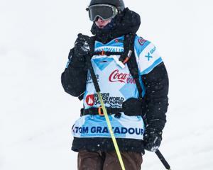 French skier Tom Gratadour. Photo: freerideworldtour.com