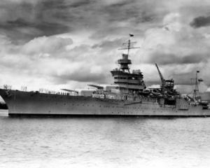 The World War II cruiser USS Indianapolis at Pearl Harbor, Hawaii. Photo: Reuters