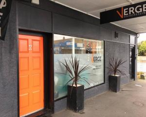 You'll find Verge Hairdressing in Musselburgh behind the 'orange door'.
