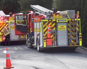 Appliances from Willowbank, Roslyn and St Kilda attended a blaze in a secure ward at Wakari...