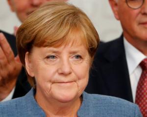 Angela Merkel. Photo Reuters