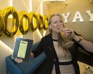 Tina, of Taupo, is one of 10 women in a syndicate who won $30 million in Saturday's Lotto draw....