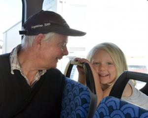 ernie cook and grandaughter genevieve
