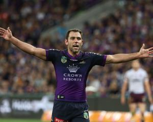 Melbourne Storm hooker and captain Cameron Smith. Photo: Getty Images