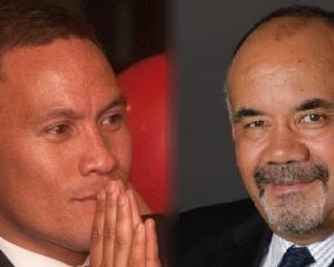 Waiariki electorate candidates Labour's Tamati Coffey and The Maori Party's Te Ururoa Flavell.