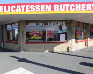 The Deep Creek Deli South Dunedin store on Prince Albert Rd.