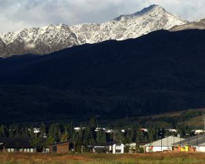 Snow on Ben Lomond, Queenstown. Photo: Guy Williams.