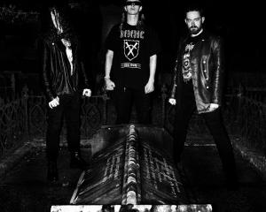 METHCHRIST has just released full-Length album Nomadic War Machine. Photo:Supplied