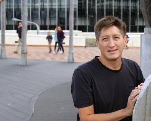 Freddy Kempf takes time out from rehearsals in Wellington this week. Photo: NZSO