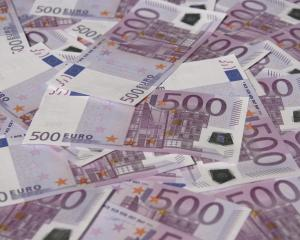 Thousands in high-denomination euro notes have been found blocking toilets at a bank and three...