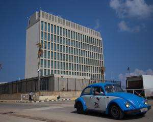 The US Embassy in Havana, Cuba, has been subject to a string of mysterious 'sonic attacks'. Photo...