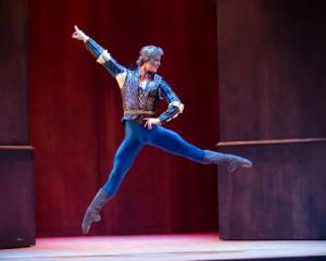 Joseph Skelton (Romeo) doesn't let a little metal in his leg slow him down. PHOTO: STEPHEN A'COURT