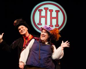 Horrible Histories stars Neal Foster and Alison Fitzjohn. Photos: Jane Hobson