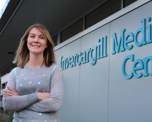 Invercargill doctor Kirsten Taplon (28). Photo: Petrina Wright.