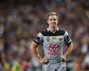 Michael Morgan during the Cowboys' semifinal against the Sydney Roosters. Photo: Getty Images